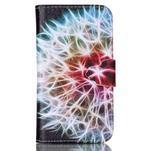 Emotive peněženkové pouzdro na Samsung Galaxy Core Prime - barevná pampeliška - 1/6