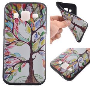 Hardy gelový obal na mobil Samsung Galaxy Core Prime - malovaný strom - 1