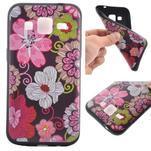 Hardy gelový obal na mobil Samsung Galaxy Core Prime - květinová koláž - 1/6
