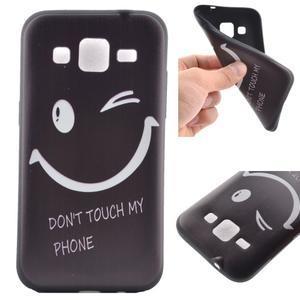Hardy gelový obal na mobil Samsung Galaxy Core Prime - nedotýkat se - 1