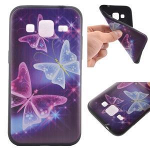 Hardy gelový obal na mobil Samsung Galaxy Core Prime - kouzelní motýlci - 1