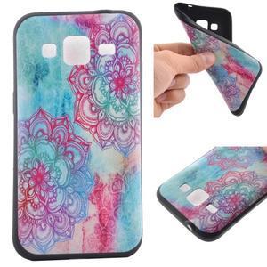 Hardy gelový obal na mobil Samsung Galaxy Core Prime - henna - 1