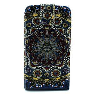 Flipové pouzdro na mobil Samsung Galaxy Core Prime - mandala - 1