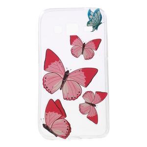 Gelový obal na Samsung Galaxy Core Prime - motýlci - 1