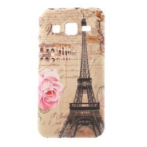 Gelový obal na Samsung Galaxy Core Prime - Eiffelova věž - 1