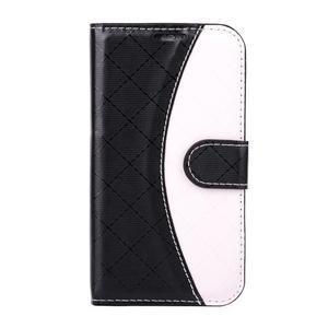 Elegantní pouzdro na Samsung Galaxy J1 - černé - 1