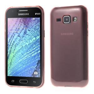 Ultra tenký obal pro Samsung Galaxy J1 - růžový - 1