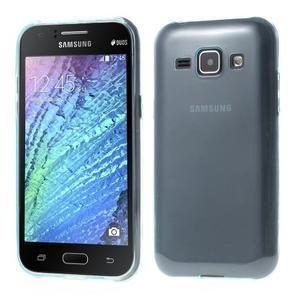 Ultra tenký obal pro Samsung Galaxy J1 - světle modrý - 1