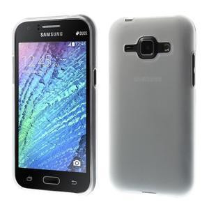 Transparentní matný kryt na Samsung Galaxy J1 - 1