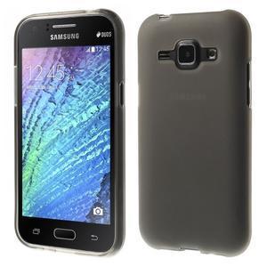 Šedý matný kryt na Samsung Galaxy J1 - 1