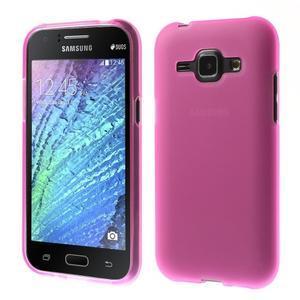 Rose matný kryt na Samsung Galaxy J1 - 1