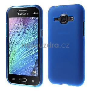 Modrý matný kryt na Samsung Galaxy J1 - 1