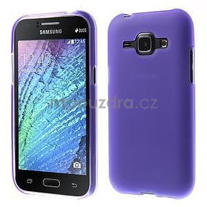 Fialový matný kryt na Samsung Galaxy J1 - 1