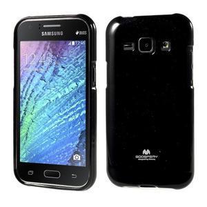 Černý gelový obal na Samsung Galaxy J1 - 1
