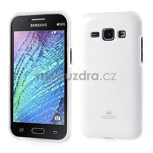 Bílý gelový obal na Samsung Galaxy J1 - 1