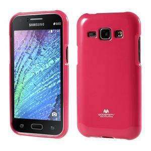 Rose gelový obal na Samsung Galaxy J1 - 1