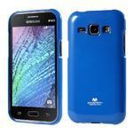 Modrý gelový obal na Samsung Galaxy J1 - 1/5