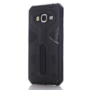 High outdoor odolný kryt na mobil Samsung Galaxy J3 (2016) - černý - 1