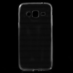 Transparentní ultratenký gelový obal na Samsung Galaxy J3 (2016) - 1
