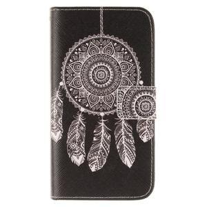 Standy peněženkové pouzdro na Samsung Galaxy J5 - lapač snů - 1