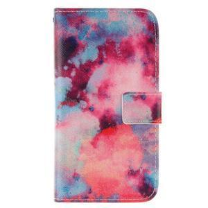 Standy peněženkové pouzdro na Samsung Galaxy J5 - malba - 1