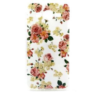 Imda gelový obal na mobil Samsung Galaxy J5 - květiny - 1