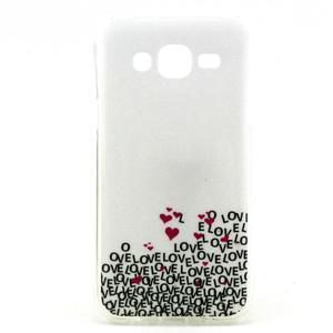 Imda gelový obal na mobil Samsung Galaxy J5 - láska - 1