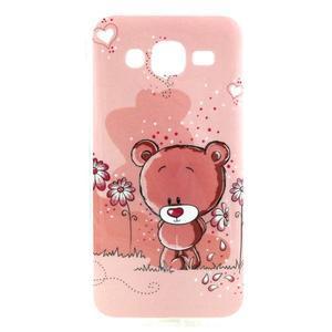 Imda gelový obal na mobil Samsung Galaxy J5 - medvídek - 1