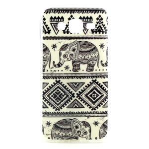 Imda gelový obal na mobil Samsung Galaxy J5 - sloníci - 1