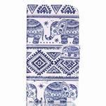 Pictu peněženkové pouzdro na Samsung Galaxy J5 - sloni - 1/6