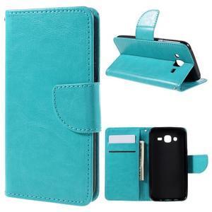 Peněženkové pouzdro na mobil Samsung Galaxy J5 - modré - 1