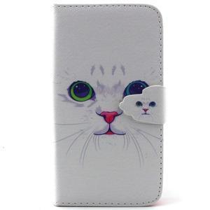 Knížkové pouzdro na mobil Samsung Galaxy J5 - kočička - 1