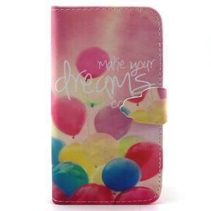 Knížkové pouzdro na mobil Samsung Galaxy J5 - balónky - 1