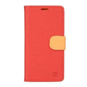 Walls pouzdro na Samsung Galaxy J5 - červené - 1
