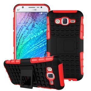 Outdoor kryt na mobil Samsung Galaxy J5 - červený - 1
