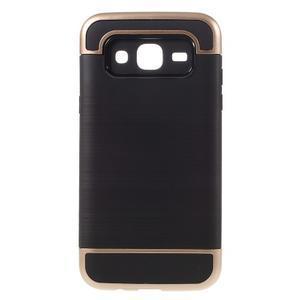 Odolný obal na mobil Samsung Galaxy J5 - champagne - 1