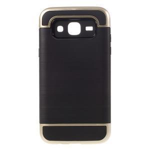 Odolný obal na mobil Samsung Galaxy J5 - zlatý - 1
