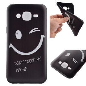 Jelly gelový obal na mobil Samsung Galaxy J5 - nedotýkat se - 1