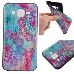 Jelly gelový obal na mobil Samsung Galaxy J5 - mandala - 1