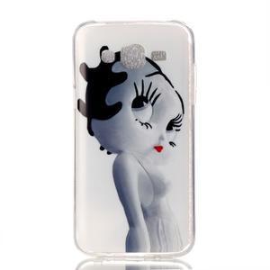 Softy gelový obal na mobil Samsung Galaxy J5 - kočička - 1