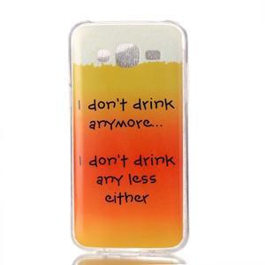Softy gelový obal na mobil Samsung Galaxy J5 - drink - 1