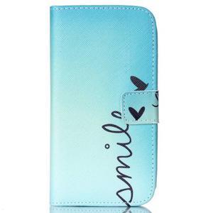 Pictu peněženkové pouzdro na Samsung Galaxy J5 - smile - 1