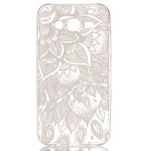 Ultratenký průhledný obal na Samsung Galaxy J5 - henna - 1