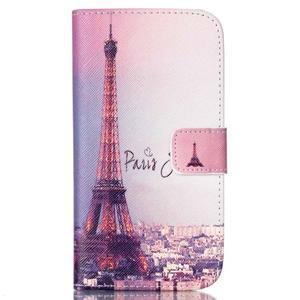 Pictu peněženkové pouzdro na Samsung Galaxy J5 - Eiffelova věž - 1