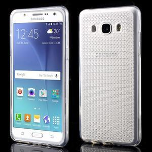 Diamonds gelový obal mobil na Samsung Galaxy J5 (2016) - transparentní - 1