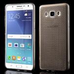 Diamonds gelový obal mobil na Samsung Galaxy J5 (2016) - šedý - 1/5
