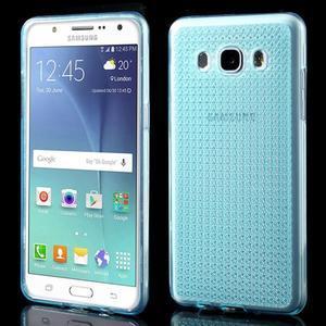 Diamonds gelový obal mobil na Samsung Galaxy J5 (2016) - modrý - 1