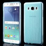 Diamonds gelový obal mobil na Samsung Galaxy J5 (2016) - modrý - 1/5
