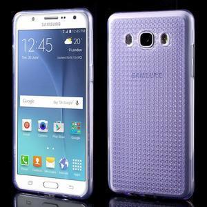 Diamonds gelový obal mobil na Samsung Galaxy J5 (2016) - fialový - 1