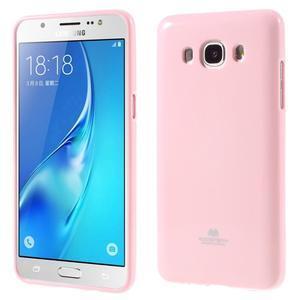 Newsets gelový obal na Samsung Galaxy J5 (2016) - růžový - 1